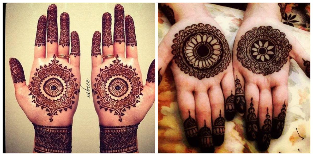 Bridal Mehndi Tiki : Perfect mehndi design tiki makedes