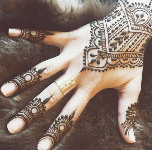 10 simple arabic mehndi designs 2017 art craft ideas for Ink craft tattoo