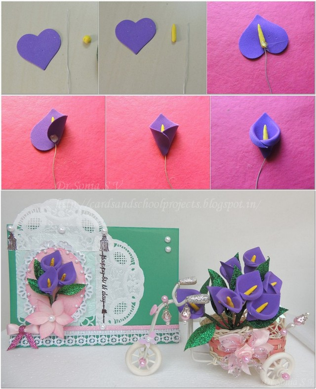 20  diy beautiful polymer clay flower step by step