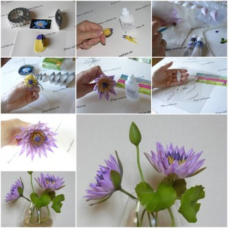 how to make beautiful paper tulip flowers step by step