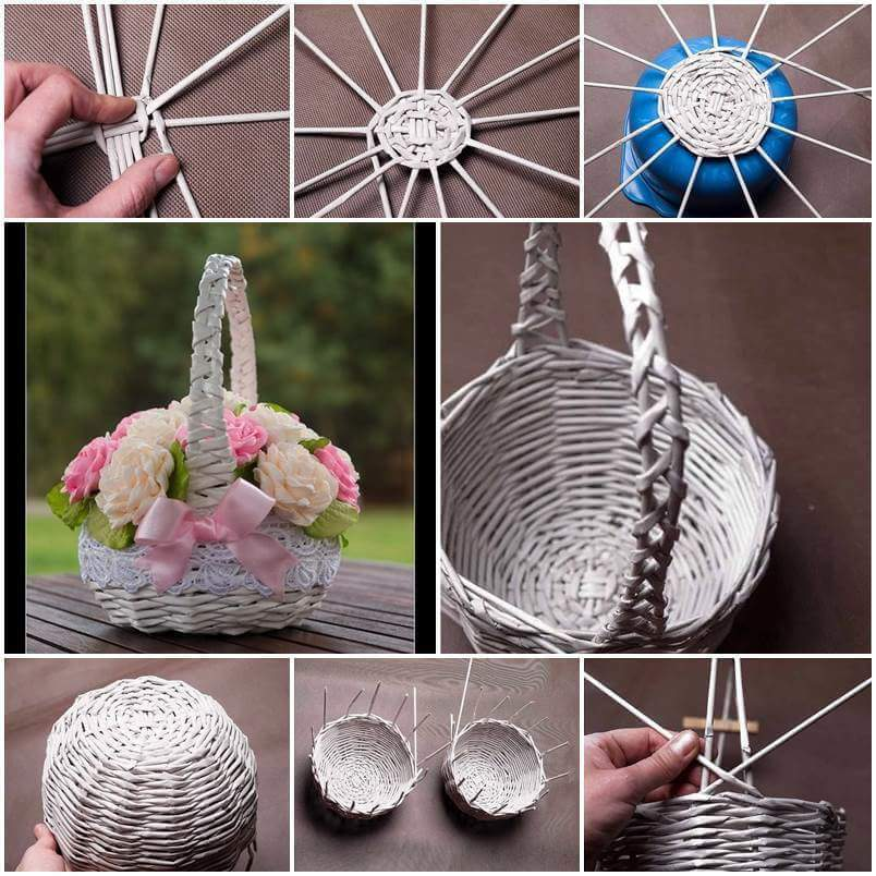 Hope You Like These Step By Newspaper Weaving Ideas