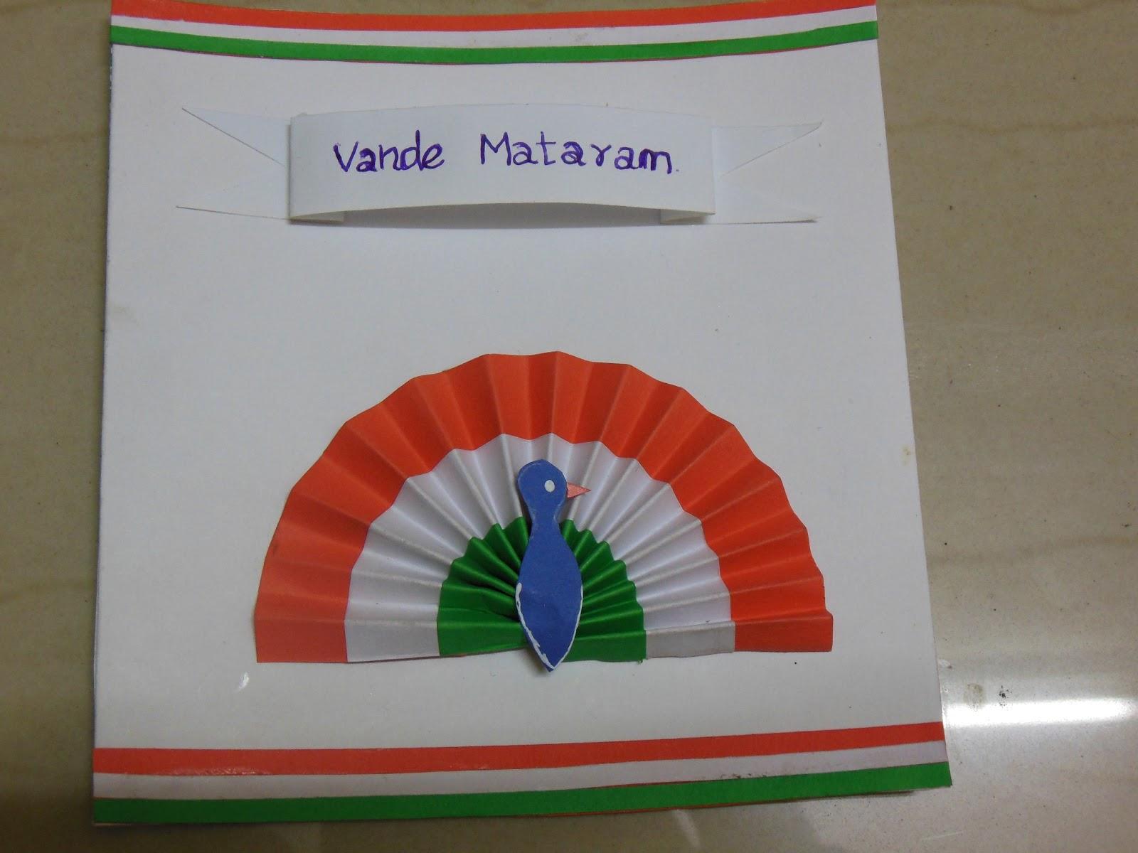 Wonderful Card Making Ideas For Republic Day Part - 12: Art U0026 Craft Ideas