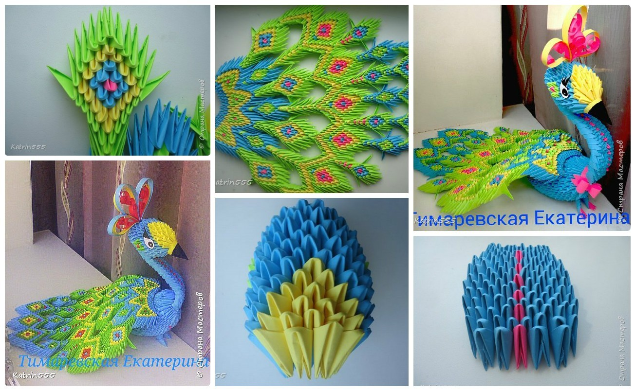 diy how to make origami peacock art amp craft ideas