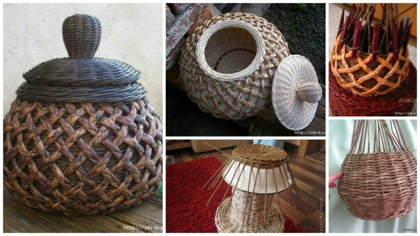 How To Make Pot From Newspaper Tubes Step By