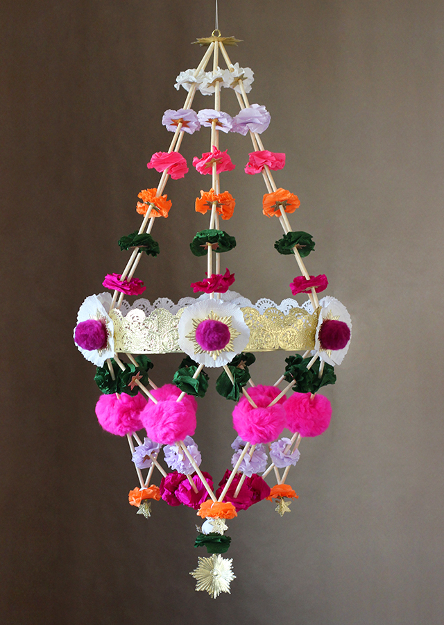 How To Make Chandelier Pajaki Lighting Fixture