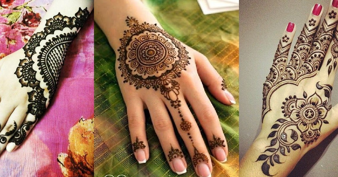 Mehndi Bracelet Designs 2016 : Unique mehndi designs for hands art craft ideas