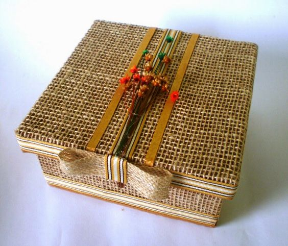 Beautiful Craft Ideas with MDF Box