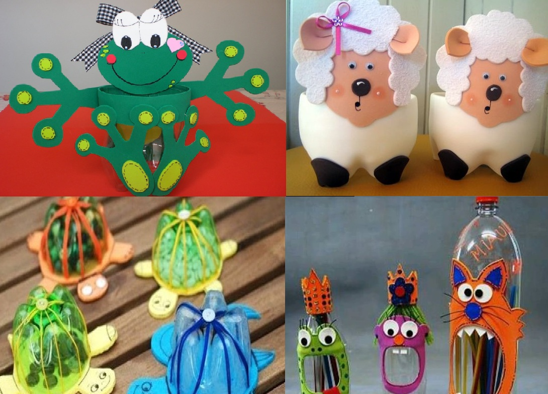 22 Crafts Made With EVA And Plastic Bottle