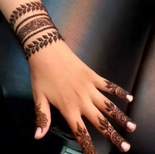 30 unique mehndi designs for hands art craft ideas. Black Bedroom Furniture Sets. Home Design Ideas