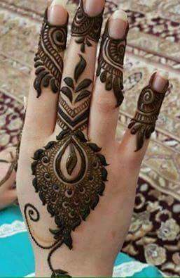 30 Unique Mehndi Designs For Hands Art Amp Craft Ideas