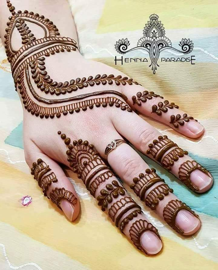 Mehndi Designs Tutorial Pdf : Unique mehndi designs for hands art craft ideas