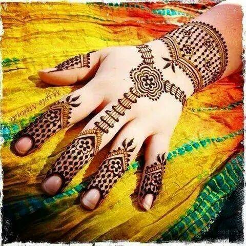 30 Unique Mehndi Designs For Hands Art Amp Craft Ideas