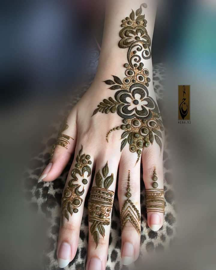 13 Unique Henna Designs Doing The Rounds This Wessing: 30 Unique Mehndi Designs For Hands