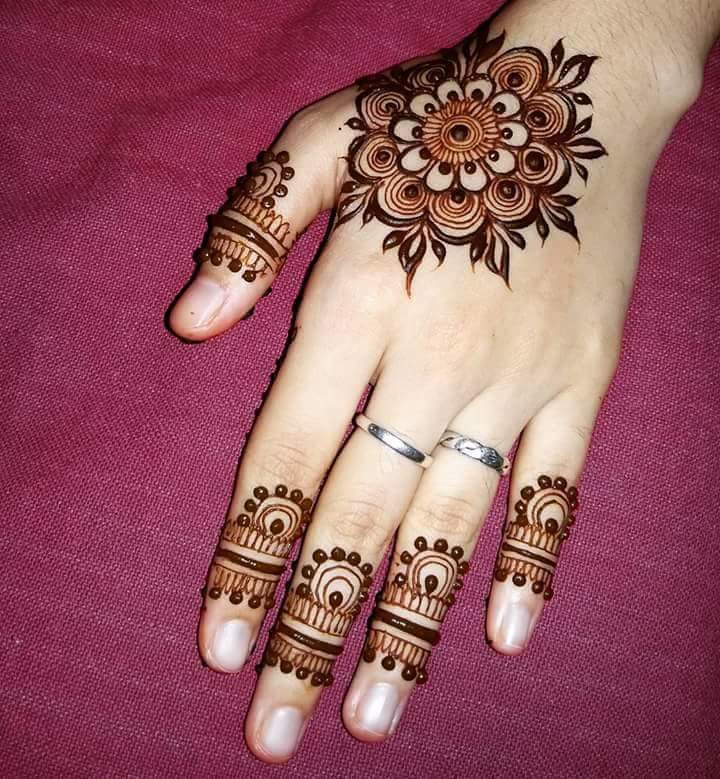 30 Unique Mehndi Designs For Hands Art Craft Ideas