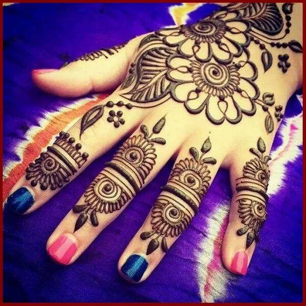Hand Mehndi Designs For Unique