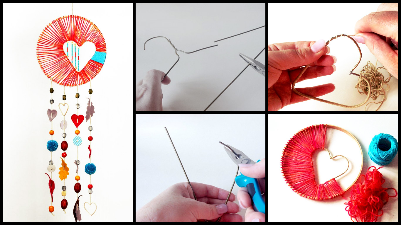 How to make a dream catcher art craft ideas for How to make dreamcatcher designs