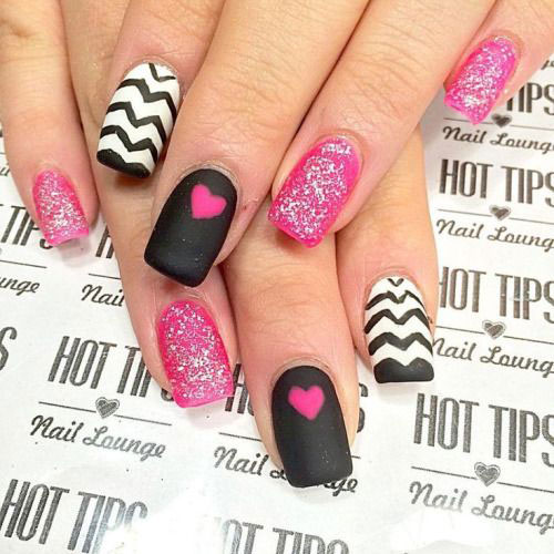 valentines day nail art designs ideas trends 2017