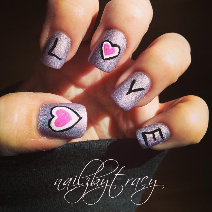 Valentine\'s Day Nail Art Designs Ideas - Art & Craft Ideas