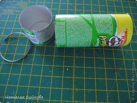 Diy Pretty Vintage Box Made With Pringles Can Art