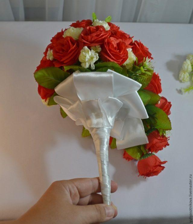 Искусственные букеты невест своими руками 426