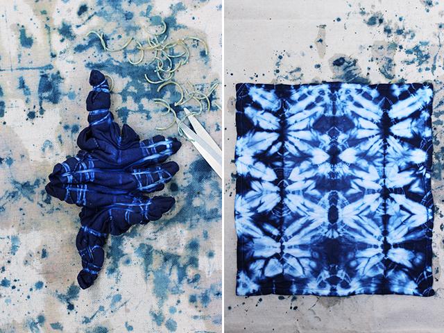 How To Dye Clothes With A Shibori Technique - Art & Craft Ideas