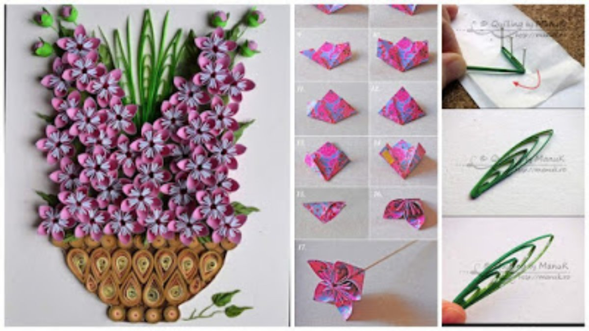 How to make a origami kusudama flower art craft ideas mightylinksfo