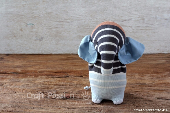 How To Make Sock Elephant Art Amp Craft Ideas