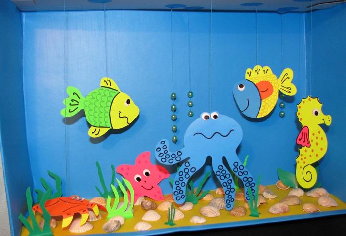 Поделка аквариум