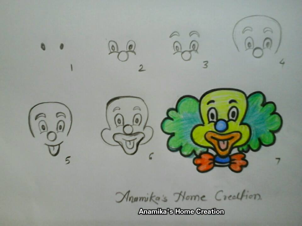 How To Draw Cartoon Characters Step By Step Art Amp Craft Ideas