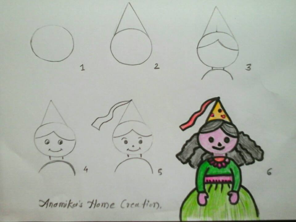 Cartoon Characters Ideas : How to draw cartoon characters step by art craft