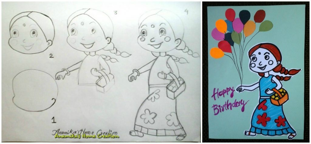How To Draw Cartoon Characters Step By Step Art Amp Craft