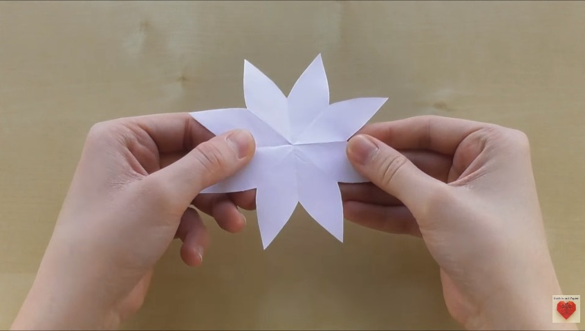how to make 3d flower pop-up card