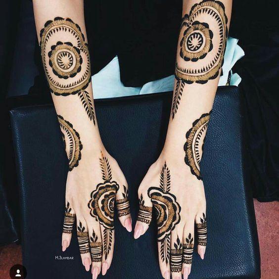 Mehndi Designs Tutorial Pdf : Beautiful bridal mehndi design inspiration for you