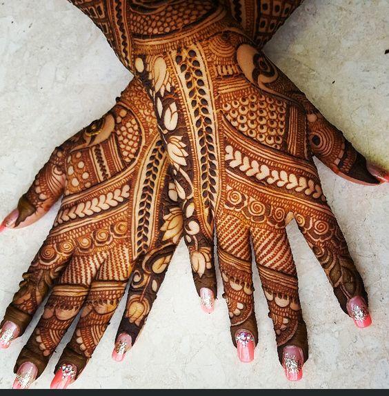 20 Beautful Henna Designs For Nikah: 20 Beautiful Bridal Mehndi Design Inspiration For You