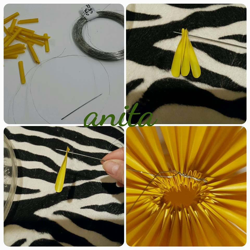 Diy Easy Straw Flower Tutorial Art Amp Craft Ideas