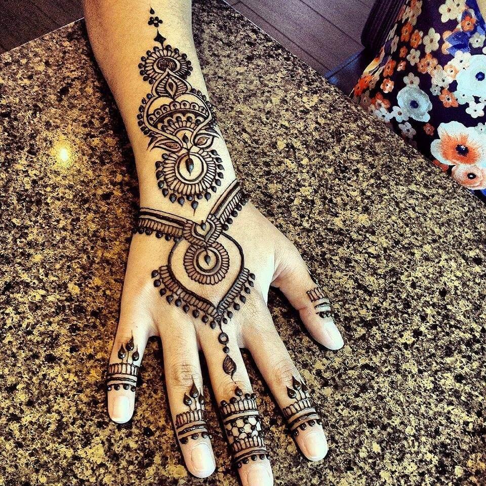 Best Arabic Mehndi Designs Collection For Girls Art