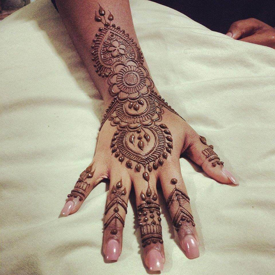 Best Arabic Mehndi Designs Collection For Girls