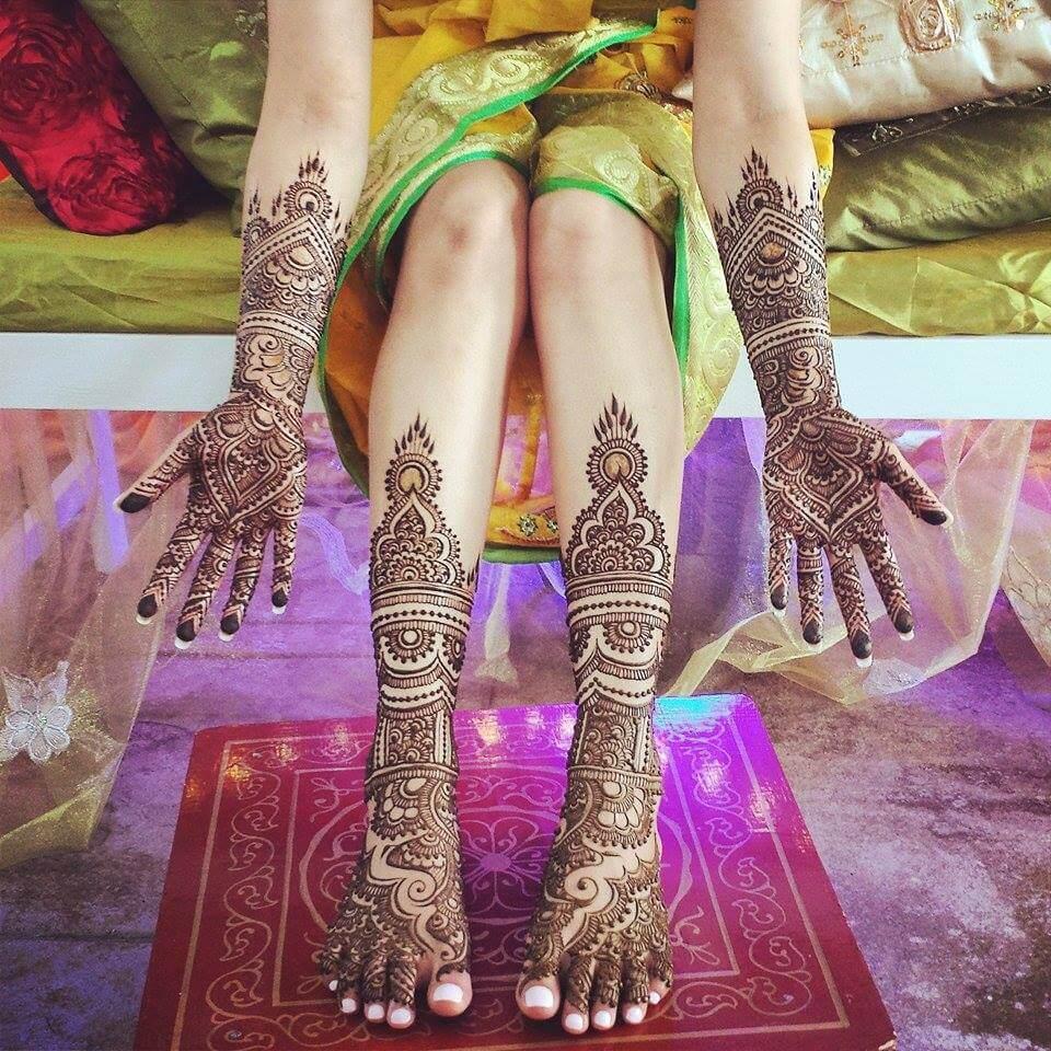 Mehndi Ideas Wedding : Latest bridal henna mehndi designs art craft ideas