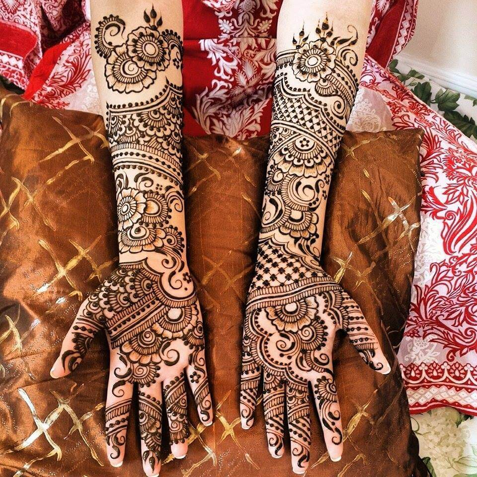 25 Latest Bridal Henna Mehndi Designs Art Amp Craft Ideas