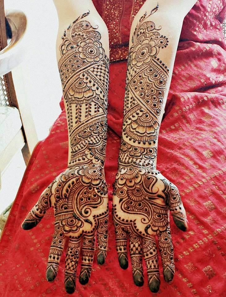 25 Latest Bridal Henna Mehndi Designs Art Craft Ideas