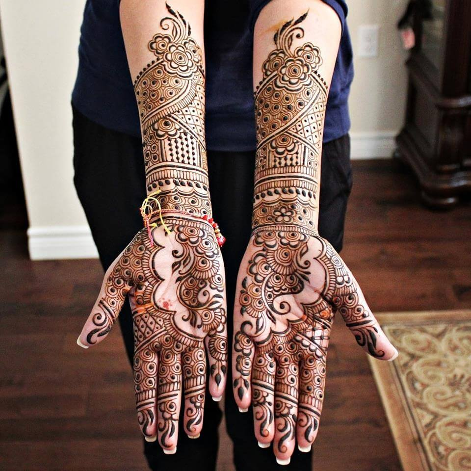 Henna Mehndi Tattoo Designs Idea For Wrist: 25+ Latest Bridal Henna Mehndi Designs