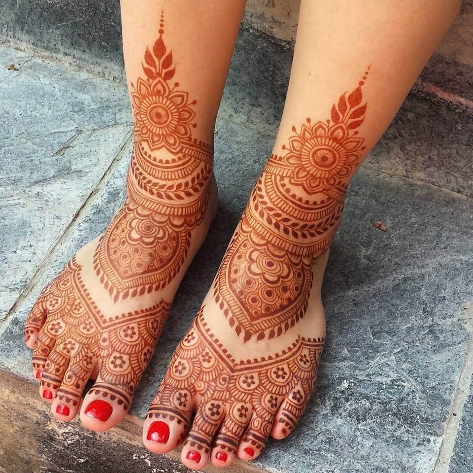 Henna Mehndi Tattoo Designs Idea For Wrist: 25+ Latest Bridal Henna Mehndi Designs