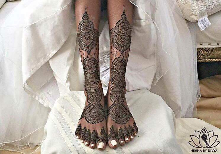 Best 25 Bridal Mehndi Design For Legs Art Amp Craft Ideas