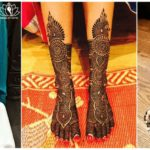 Best 25 Bridal Mehndi Design for Legs