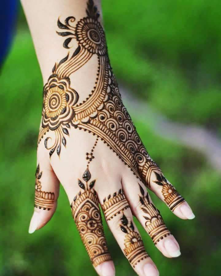30 Easy Henna Mehndi Designs For Every Occasion Art Craft Ideas