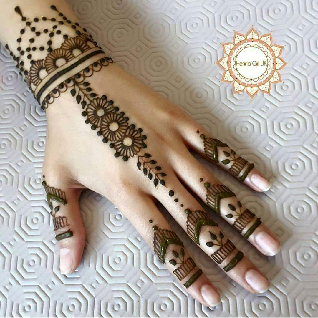 Simple Henna Designs: 30 Easy Henna Mehndi Designs For Every Occasion