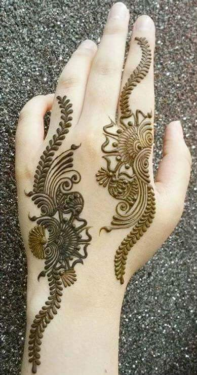 Easy Henna Mehndi Designs For Every Occasion Simple Arabic Design