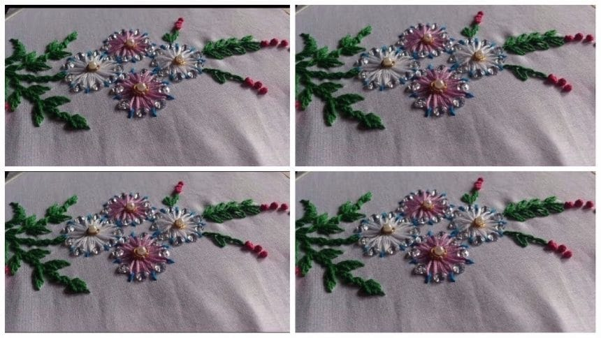 Basic Hand Embroidery Stitches Tutorial Art Craft Ideas
