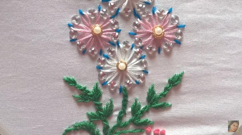 Basic Hand Embroidery Stitches Tutorial Art Craft Ideas