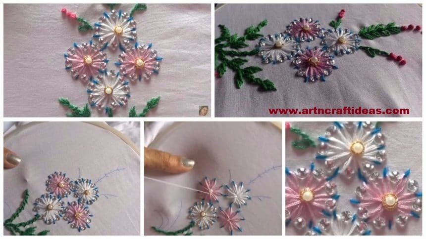 Hand Embroidery Archives Art Craft Ideas